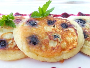 pancake, ready to eat